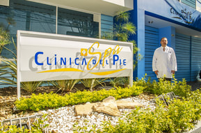 clinica del pie y spa